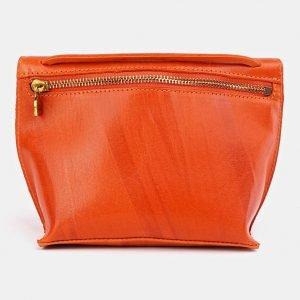 Деловой оранжевый женский клатч ATS-3656 211733