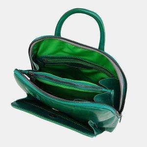 Модный зеленый рюкзак с росписью ATS-3696 211548