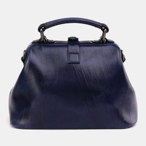 Модная синяя сумка с росписью ATS-3694 211558