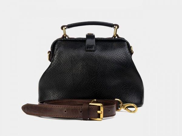 Функциональная черная женская сумка ATS-3226