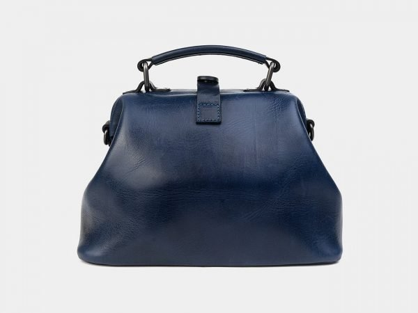 Деловая синяя сумка с росписью ATS-1228