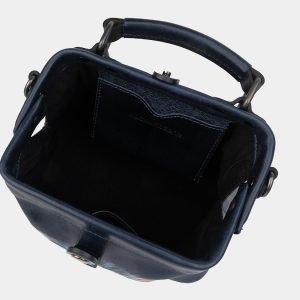 Вместительная синяя сумка с росписью ATS-1228 216960