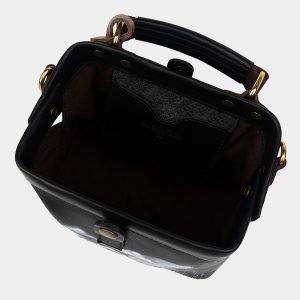 Неповторимая черная сумка с росписью ATS-2510 215074