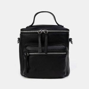 Неповторимый черный рюкзак кожаный ATS-3231