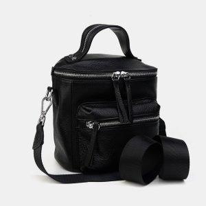 Неповторимый черный рюкзак кожаный ATS-3231 213196