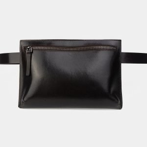 Стильная коричневая женская сумка на пояс ATS-3263