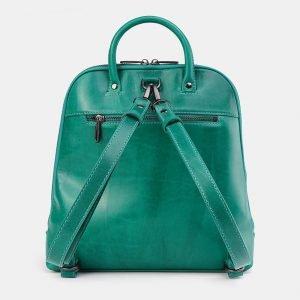 Стильный зеленый рюкзак с росписью ATS-3676 211640