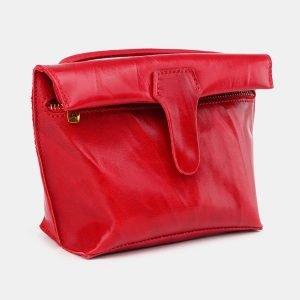 Неповторимый красный женский клатч ATS-3685 211594