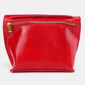 Неповторимый красный женский клатч ATS-3685 211596