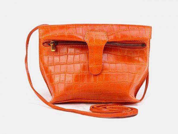 Модный оранжевый женский клатч ATS-3684