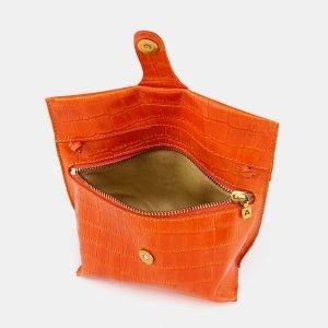 Модный оранжевый женский клатч ATS-3684 211599