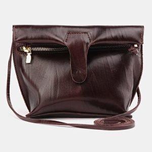 Удобный коричневый женский клатч ATS-3687