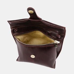 Удобный коричневый женский клатч ATS-3687 211590