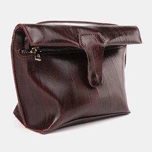 Удобный коричневый женский клатч ATS-3687 211589