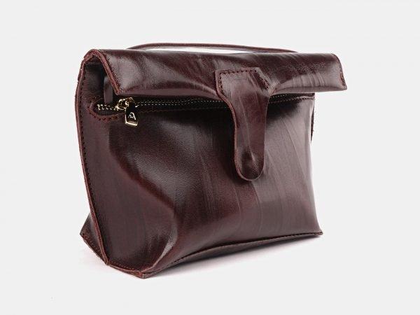 Функциональный коричневый женский клатч ATS-3687
