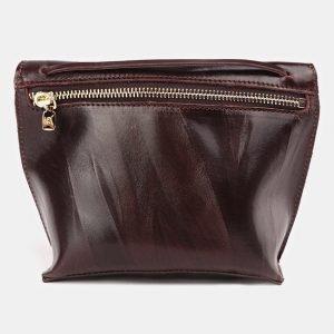 Удобный коричневый женский клатч ATS-3687 211591