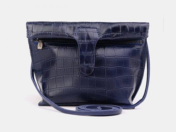 Модный синий женский клатч ATS-3689