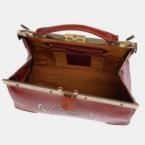 Функциональный светло-коричневый саквояж с росписью ATS-3709 211518