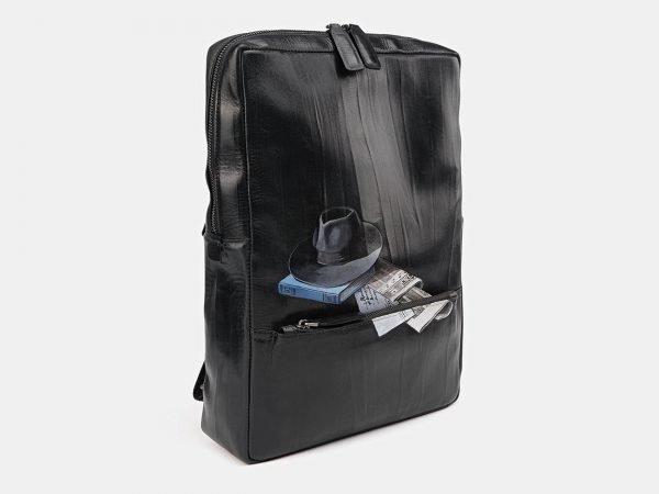 Модный черный рюкзак с росписью ATS-3711