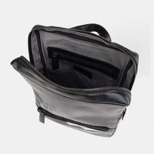 Модный черный рюкзак с росписью ATS-3711 211508