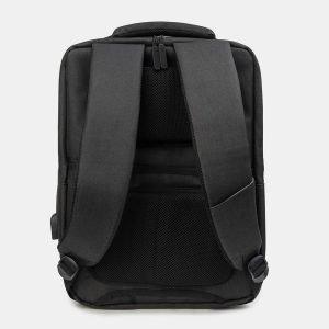 Уникальный черный рюкзак из пвх ATS-3275 213040