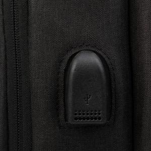 Уникальный черный рюкзак из пвх ATS-3275 213042