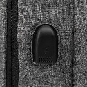 Стильный серый рюкзак из пвх ATS-3276 213035