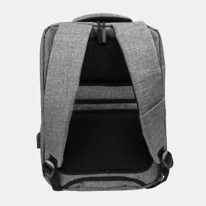 Стильный серый рюкзак из пвх ATS-3276 213033