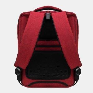 Кожаный бордовый рюкзак из пвх ATS-3277 213026
