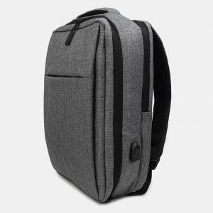 Стильный серый рюкзак из пвх ATS-3276 213032