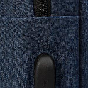 Функциональный синий рюкзак из пвх ATS-3278 213021