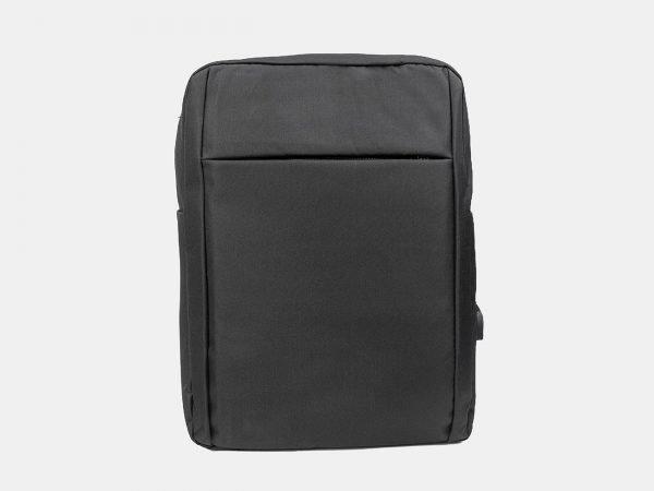 Деловой черный рюкзак из пвх ATS-3279