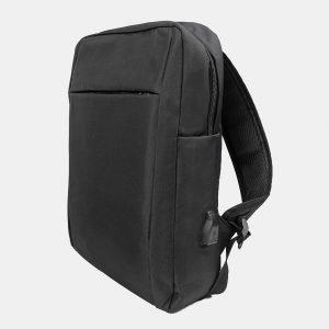 Деловой черный рюкзак из пвх ATS-3279 213011