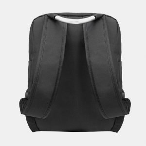 Деловой черный рюкзак из пвх ATS-3279 213012