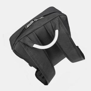 Деловой черный рюкзак из пвх ATS-3279 213015