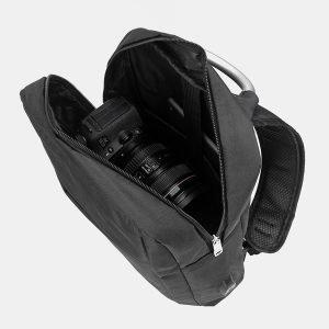 Деловой черный рюкзак из пвх ATS-3279 213013