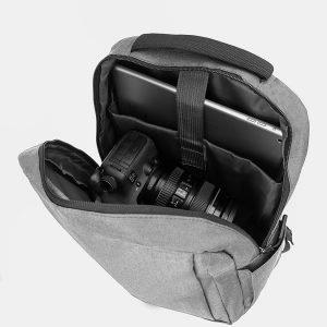 Неповторимый серый рюкзак из пвх ATS-3280 213006
