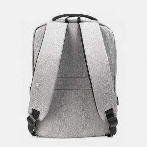 Неповторимый серый рюкзак из пвх ATS-3280 213005
