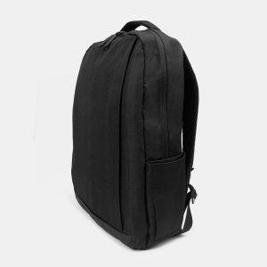Кожаный черный рюкзак из пвх ATS-3281 212997