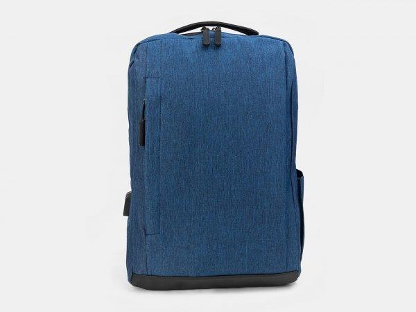 Деловой синий рюкзак из пвх ATS-3282