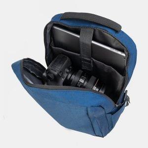 Деловой синий рюкзак из пвх ATS-3282 212992