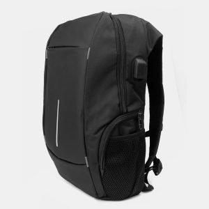 Модный черный рюкзак из пвх ATS-3283 212983