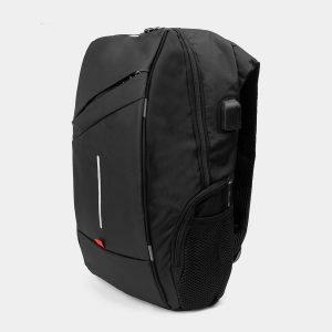 Солидный черный рюкзак из пвх ATS-3285 212969