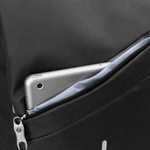 Солидный черный рюкзак из пвх ATS-3285 212971