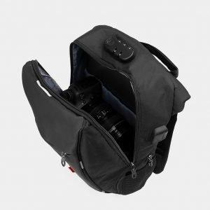 Солидный черный рюкзак из пвх ATS-3285 212972