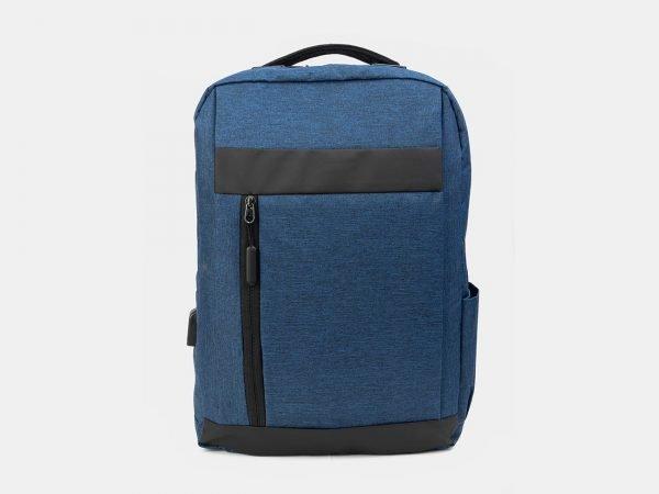 Деловой синий рюкзак из пвх ATS-3286