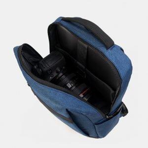 Деловой синий рюкзак из пвх ATS-3286 212966