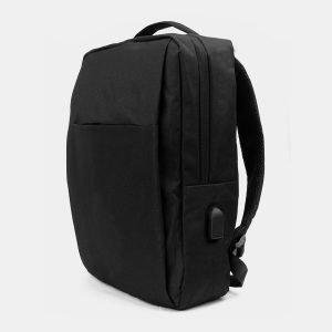 Солидный черный рюкзак из пвх ATS-3287 212955