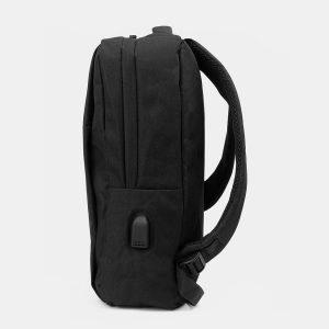 Солидный черный рюкзак из пвх ATS-3287 212959
