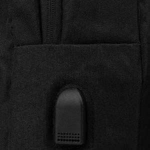 Солидный черный рюкзак из пвх ATS-3287 212958